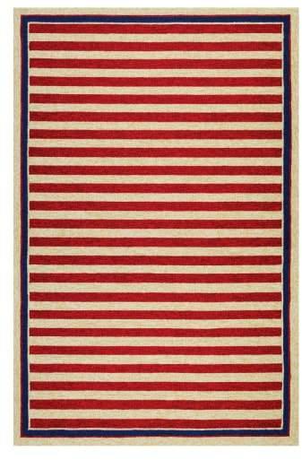 Nautical Stripes Indoor/Outdoor Rug