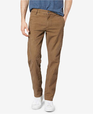 Dockers Slim Tapered Fit Alpha Khaki Corduroy Stretch Pants