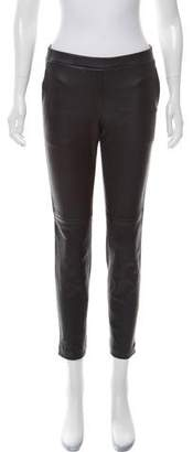 Theory Lamb Leather Skinny Pants w/ Tags