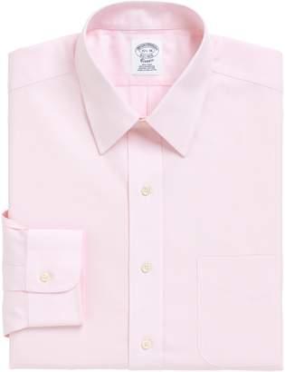 Brooks Brothers Regular Fit Solid Dress Shirt