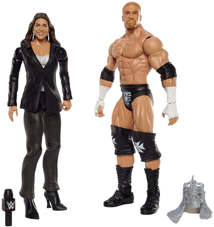 WWE Triple H and Stephanie McMahon Figure 2-pack Action Figure