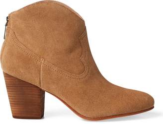 Ralph Lauren Mazie Suede Cowboy Boot