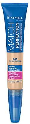 Rimmel Match Perfection 2-in-1 Concealer And Highlighter, Fair/Light Neutral, 0.23 Fluid Ounce $5.99 thestylecure.com