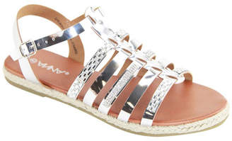 ANNA Draft Metallic Strappy Sandal