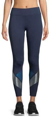 Heroine Sport Flex Full-Length Leggings with Metallic Graphics