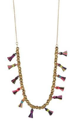 Gorjana Havana Tassel Necklace