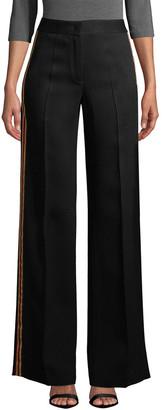Derek Lam 10 Crosby Derek Lam Wide Leg Tuxedo Stripe Pant