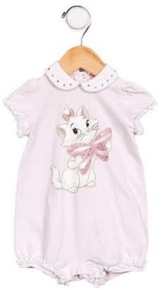 MonnaLisa Girls' Embellished Graphic All-In-One