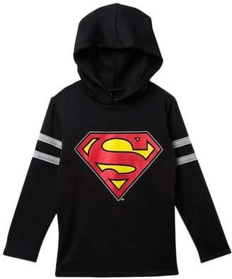 Dx-Xtreme Superman Emblem Hooded Sweatshirt (Little Boys)