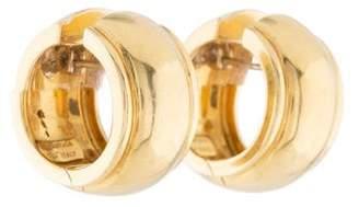 Tiffany & Co. 18K Hoop Earrings