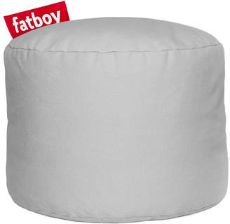 Fatboy Point Stonewashed Pouffe - Silver