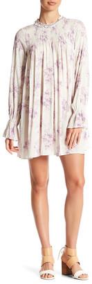 En Creme Mock Neck Long Sleeve Dress $48 thestylecure.com