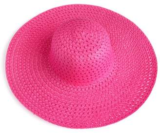 Riah Fashion Floppy Straw Hat