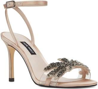 ab67e1539638 Nine West White Strap Women s Sandals - ShopStyle