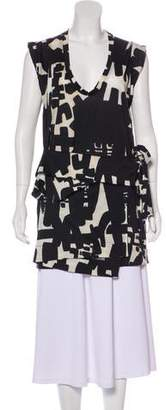 Isabel Marant Short Sleeve Printed Tunic
