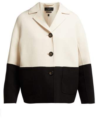 Max Mara Ardenne Jacket - Womens - Black White
