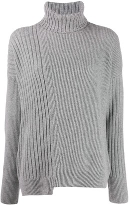 Falke turtle neck cable-knit jumper