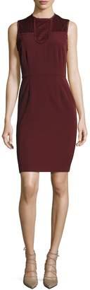 Ava & Aiden Women's Lace Contrast Sheath Dress