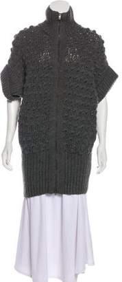 Stella McCartney Wool & Alpaca Knit Cardigan