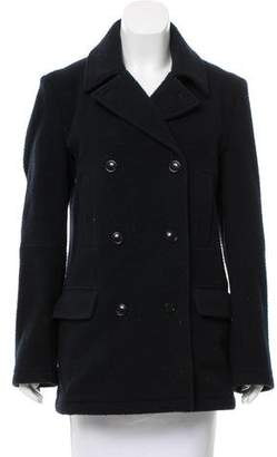 Alexander Wang Textured Wool Coat