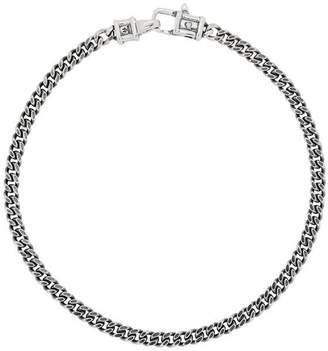 Tom Wood Large Sterling Silver Curb Bracelet