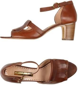 b14bc45635c2d4 Rupert Sanderson Leather Lined Women s Sandals - ShopStyle