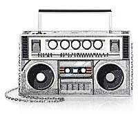 Judith Leiber Couture Women's Rahim Boom Box Crystal Clutch