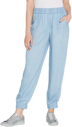 Lisa Rinna Collection Lyocell Jogger Pants
