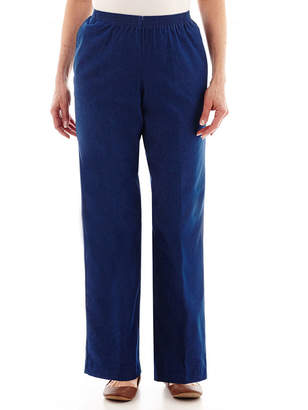 Alfred Dunner Denim Pull-On Pants