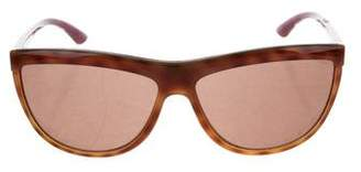 Miu Miu Acetate Tortoiseshell Sunglasses