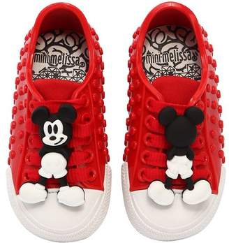 Mini Melissa Scented Mickey Mouse Rubber Sneakers