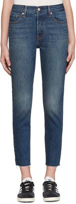 Levi's Blue Wedgie Fit Jeans $85 thestylecure.com