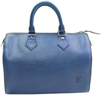 Louis Vuitton Speedy leather satchel