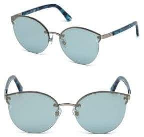Web Blue Tortoise Shell Sunglasses
