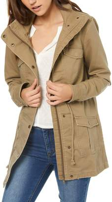 O'Neill Onofre Lace-Up Hooded Jacket