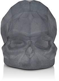 Nude Memento Mori Faceted Skull-Black