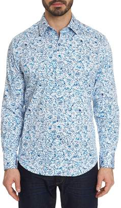 Robert Graham Floral Long-Sleeve Button-Down Shirt