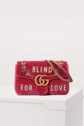 Gucci GG Marmont Blind For Love shoulder bag