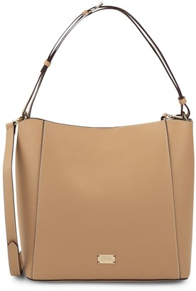 Frances Valentine Medium Leather Convertible Tote