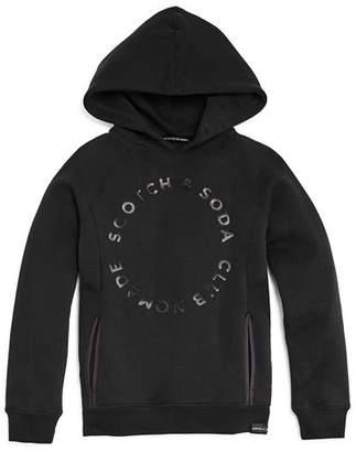 Scotch Shrunk Boys' Circle Logo Hoodie - Little Kid, Big Kid