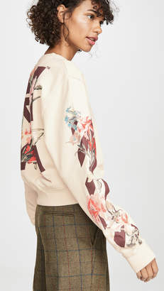 Off-White Off White Flowers Sweatshirt
