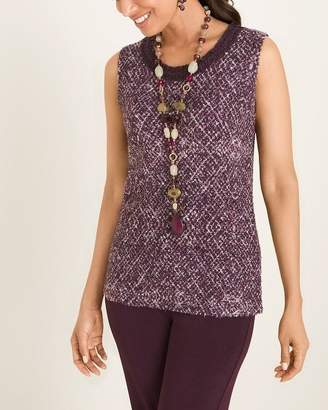 Of the Moment Travelers Collection Texture Tweed Tank