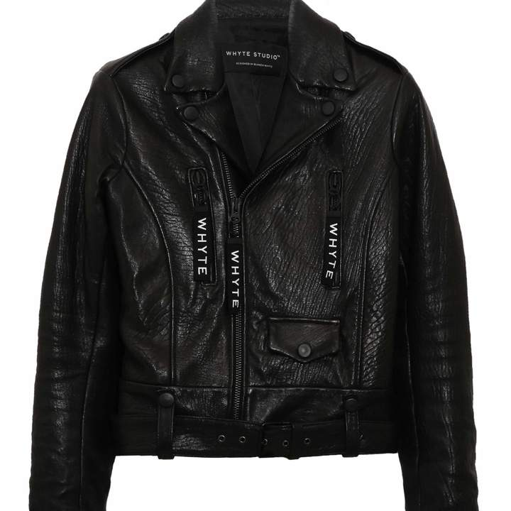 Whyte Studio - The Reformed Classic Leather Jacket