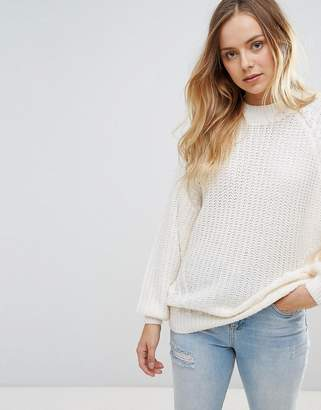 Brave Soul Fez Loose Fit Sweater