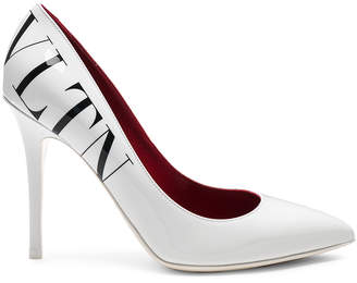 Valentino VLTN Print Patent Leather Pumps