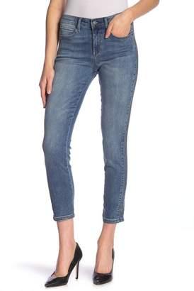 Nicole Miller New York High Rise Embellished Skinny Jeans