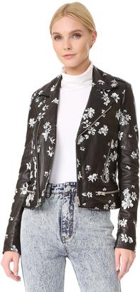 IRO.JEANS Phedra Jacket $1,610 thestylecure.com