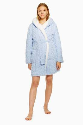 Topshop Womens Faux Fur Fluffy Robe