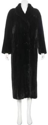 Neiman Marcus Long Mink Fur Coat