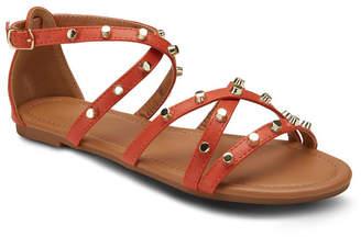 OLIVIA MILLER Markle Sparkle Studded Sandals Women Shoes